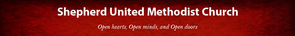 Shepherd United Methodist Church Header